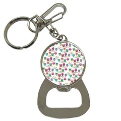 Happy Owls Bottle Opener Key Chain