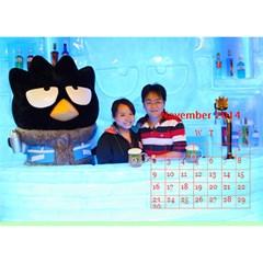 Becky2 By Becky   Desktop Calendar 8 5  X 6    Lhql8r68lj0b   Www Artscow Com Nov 2014