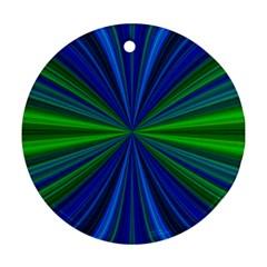 Design Round Ornament (two Sides) by Siebenhuehner