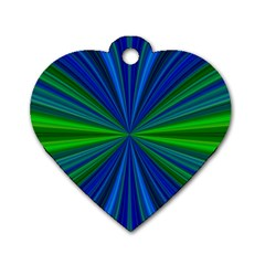 Design Dog Tag Heart (one Sided)  by Siebenhuehner