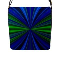Design Flap Closure Messenger Bag (large) by Siebenhuehner