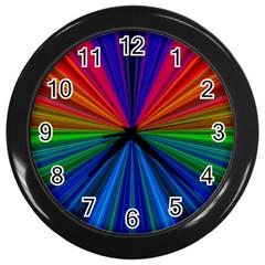 Design Wall Clock (black) by Siebenhuehner