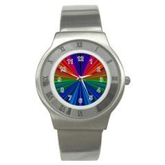 Design Stainless Steel Watch (slim) by Siebenhuehner
