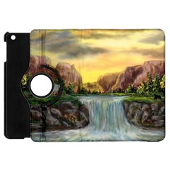 Brentons Waterfall   Ave Hurley   Artrave   Apple Ipad Mini Flip 360 Case by ArtRave2