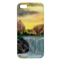 Brentons Waterfall   Ave Hurley   Artrave   Iphone 5 Premium Hardshell Case by ArtRave2