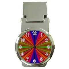 Design Money Clip With Watch by Siebenhuehner
