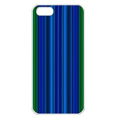 Strips Apple Iphone 5 Seamless Case (white) by Siebenhuehner