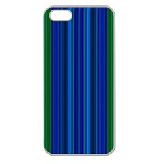 Strips Apple Seamless Iphone 5 Case (clear) by Siebenhuehner