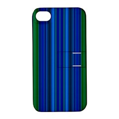 Strips Apple Iphone 4/4s Hardshell Case With Stand by Siebenhuehner