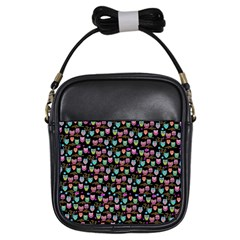 Happy Owls Girls Sling Bag by Ancello