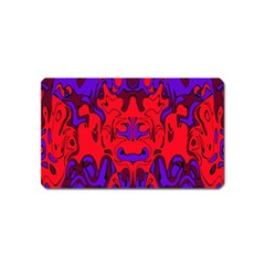 Abstract Magnet (name Card) by Siebenhuehner