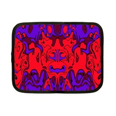 Abstract Netbook Sleeve (small) by Siebenhuehner