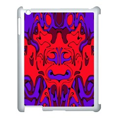 Abstract Apple iPad 3/4 Case (White)