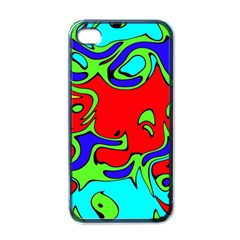 Abstract Apple Iphone 4 Case (black) by Siebenhuehner