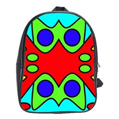 Abstract School Bag (large) by Siebenhuehner
