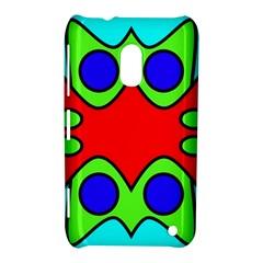 Abstract Nokia Lumia 620 Hardshell Case