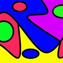 Abstract Canvas 20  X 20  (unframed) by Siebenhuehner