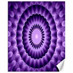 Mandala Canvas 11  X 14  (unframed) by Siebenhuehner