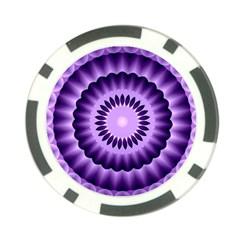 Mandala Poker Chip by Siebenhuehner