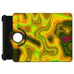 Abstract Kindle Fire Hd 7  (1st Gen) Flip 360 Case by Siebenhuehner