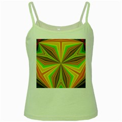 Abstract Green Spaghetti Tank by Siebenhuehner