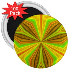Abstract 3  Button Magnet (100 Pack)