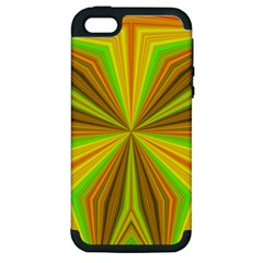 Abstract Apple Iphone 5 Hardshell Case (pc+silicone) by Siebenhuehner