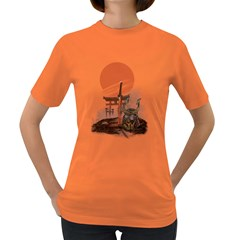 Good By Samurai Womens' T Shirt (colored) by Contest1807839