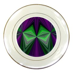 Abstract Porcelain Display Plate by Siebenhuehner