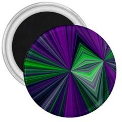 Abstract 3  Button Magnet by Siebenhuehner