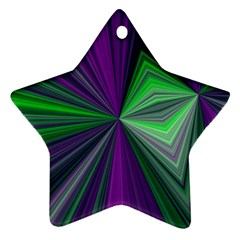 Abstract Star Ornament (two Sides) by Siebenhuehner