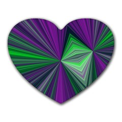 Abstract Mouse Pad (heart) by Siebenhuehner