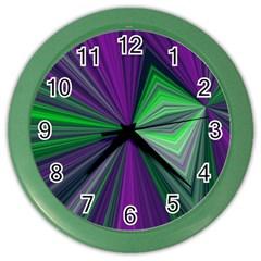 Abstract Wall Clock (Color)