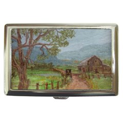 amish Buggy Going Home  By Ave Hurley Of Artrevu   Cigarette Money Case by ArtRave2