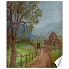 amish Buggy Going Home  By Ave Hurley Of Artrevu   Canvas 8  X 10  by ArtRave2
