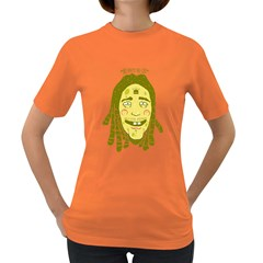 Sponge [bob] Marley Womens' T Shirt (colored) by Contest1810159