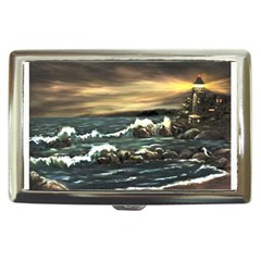 bridget s Lighthouse   By Ave Hurley Of Artrevu   Cigarette Money Case by ArtRave2