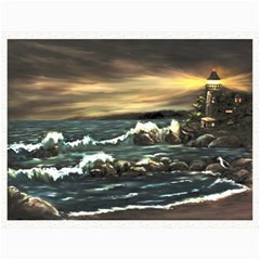 bridget s Lighthouse   By Ave Hurley Of Artrevu   Canvas 12  X 16