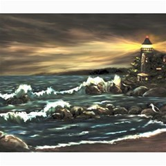 bridget s Lighthouse   By Ave Hurley Of Artrevu   Canvas 20  X 24