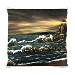 bridget s Lighthouse   By Ave Hurley Of Artrevu   Standard Cushion Case (one Side) by ArtRave2