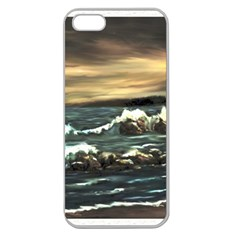 bridget s Lighthouse   By Ave Hurley Of Artrevu   Apple Seamless Iphone 5 Case (clear) by ArtRave2