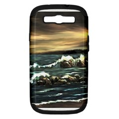 Bridget s Lighthouse   by Ave Hurley of ArtRevu ~ Samsung Galaxy S III Hardshell Case (PC+Silicone) by ArtRave2