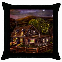 camp Verde   By Ave Hurley Of Artrevu   Throw Pillow Case (black) by ArtRave2