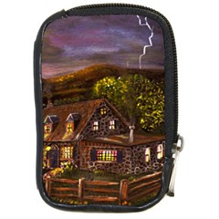 camp Verde   By Ave Hurley Of Artrevu   Compact Camera Leather Case by ArtRave2