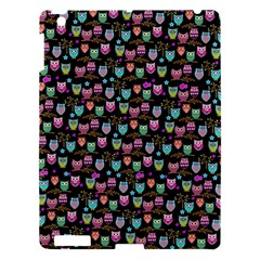 Happy Owls Apple Ipad 3/4 Hardshell Case by Ancello