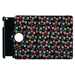 Happy Owls Apple Ipad 3/4 Flip 360 Case by Ancello