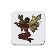 Faerie Nymph Fairy With Outreaching Hands Drink Coasters 4 Pack (square) by goldenjackal