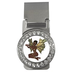 Faerie Nymph Fairy With Outreaching Hands Money Clip (cz) by goldenjackal