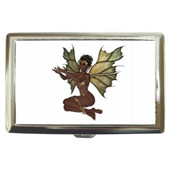 Faerie Nymph Fairy With Outreaching Hands Cigarette Money Case by goldenjackal