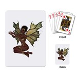 Faerie Nymph Fairy with outreaching hands Playing Cards Single Design